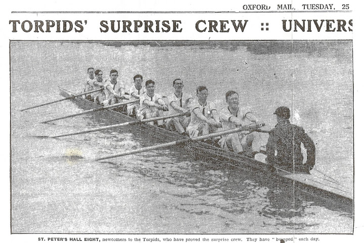 1930 The Times Torpids article