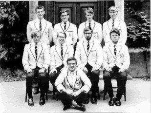 Summers VIIIs 1st VIII 1966