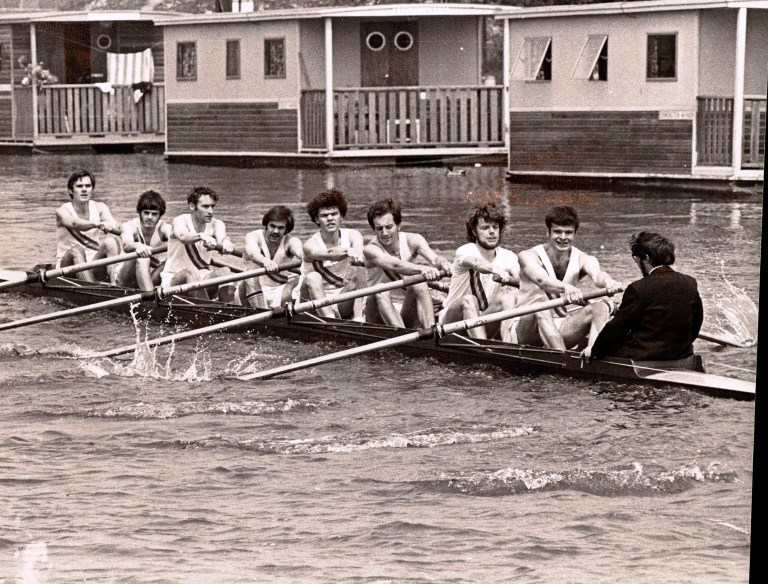 1967 St Peters College XIII After race 1967